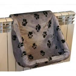 Гамак на радиатор для кошки, мех, 18 РАСЦВЕТОК, 40*30*37 см