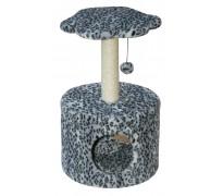 Домик «Лапка» круглый, для кошек, 39*60 см