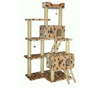 Комплекс «Alisa» для КРУПНЫХ кошек, меховой, 105*75*200 см (артикул 15620)