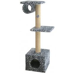 Домик «Lussi», квадратный, для кошек, 36*36*107 см