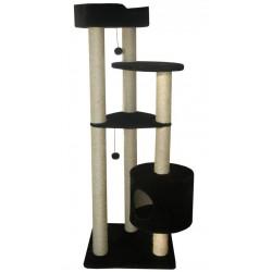 Комплекс «Lora» маленький, для АКТИВНЫХ кошек, 60*60*165 см