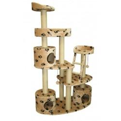 Комплекс «Dina» с ТРЕМЯ домиками, для кошек, 110*55*185 см