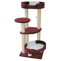 Комплекс «Daina», для КРУПНЫХ кошек, меховой, 60*60*135 см (артикул 15615)