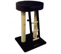 Когтеточка с лежанкой и лестницей для КРУПНЫХ кошек, 55*60*95 см